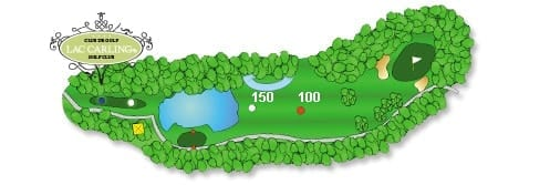 Hotel lac carling Club et parcours de golf Laurentides Lachute Trou #3