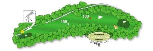 Hotel lac carling Club et parcours de golf Laurentides Lachute Trou #4