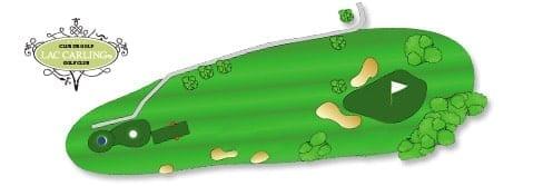 Hotel lac carling Club et parcours de golf Laurentides Lachute Trou #5