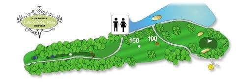 Hotel Lac Carling Club et parcours de golf Laurentides Lachute Trou #7