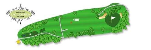 Hotel Lac Carling Club et parcours de golf Laurentides Lachute Trou #8