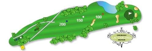Hotel lac carling Club et parcours de golf Laurentides Lachute Trou #11