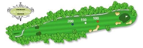 Hotel lac carling Club et parcours de golf Laurentides Lachute Trou #13