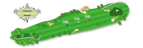 Hotel Lac Carling Club et parcours de golf Laurentides Lachute Trou #9