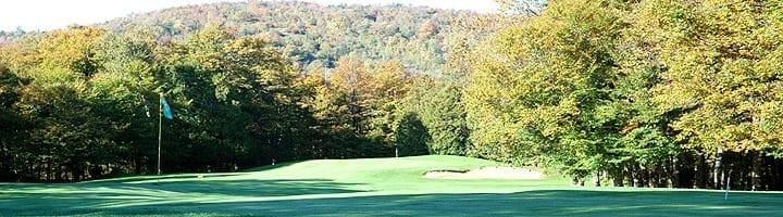 Hotel lac carling Club et parcours de golf Laurentides Lachute Trou #4 photo