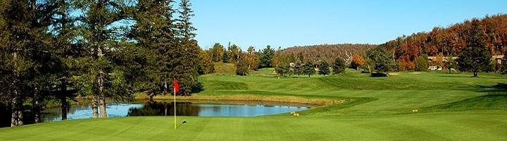 Hotel lac carling Club et parcours de golf Laurentides Lachute Trou #10 photo