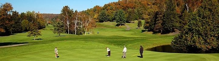 Hotel lac carling Club et parcours de golf Laurentides Lachute Trou #11 photo