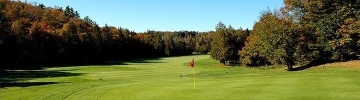 Hotel lac carling Club et parcours de golf Laurentides Lachute Trou #14 photo